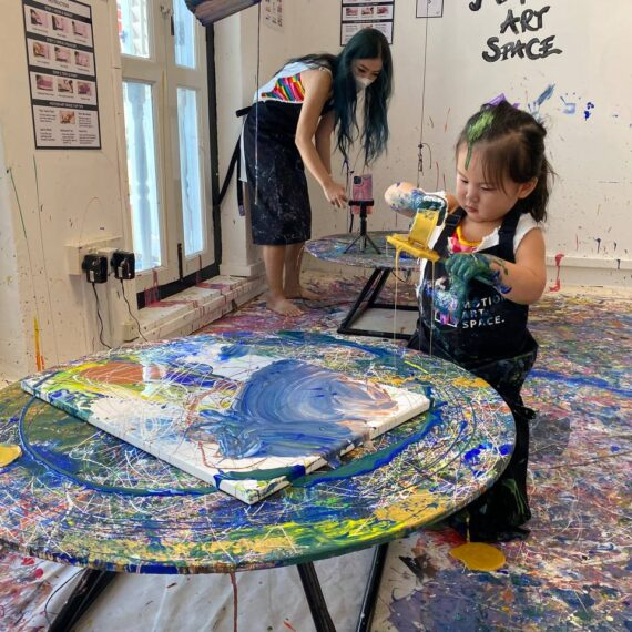 Art Jamming Activity for Families