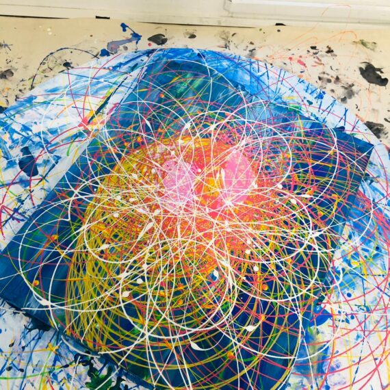 Abstract art jamming for beginners